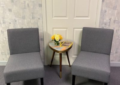 Serenity Therapeutic Counseling Waiting Area